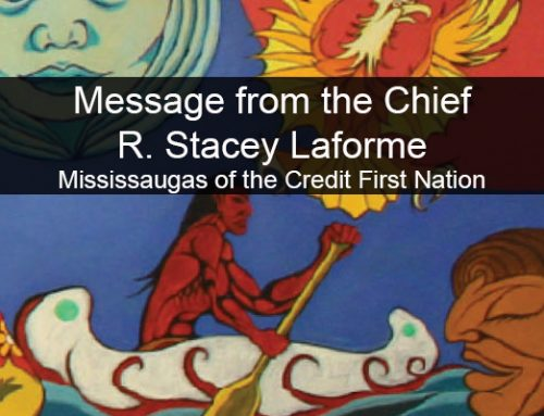 Video Message to MCFN Community from Chief R. Stacey Laforme