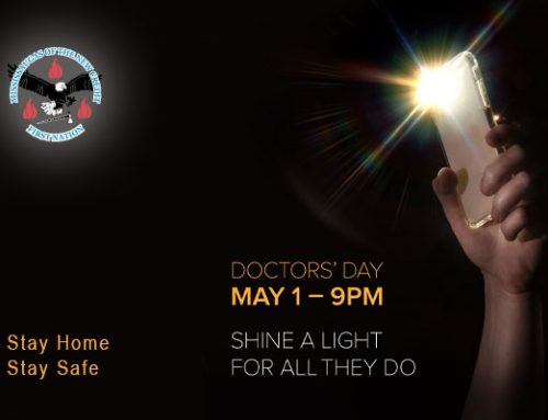 "Ontario Residents asked to ""Shine a Light for All They Do"" May 1 for Doctor's Day"