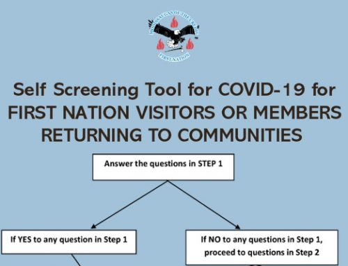 Self Screening Tool for COVID-19 for First Nations Visitors or Members Returning to Community