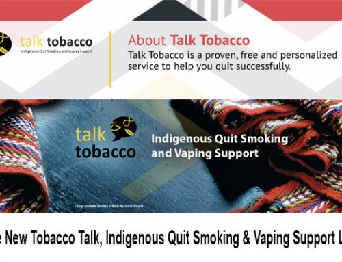New Tobacco Talk, Indigenous Quit Smoking & Vaping Support Line