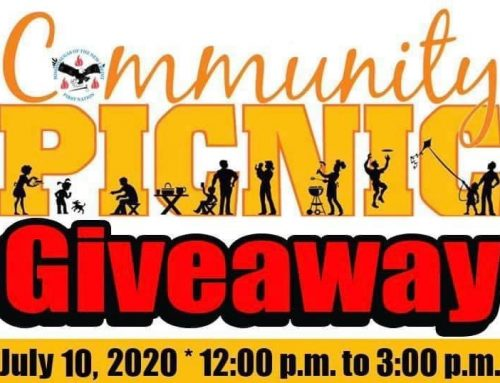 Community Picnic Giveaway Pick Up Today
