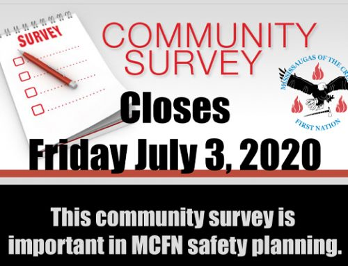 MCFN Community Survey Closes Today !