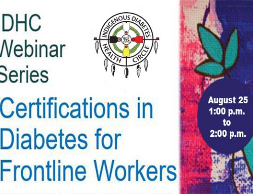 IDHC Webinar Series: Certifications In Diabetes For Frontline Workers