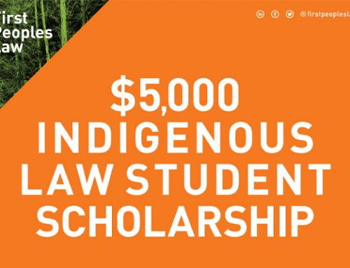 $5,000 Indigenous Law Student Scholarship