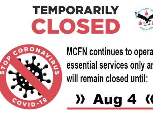 MCFN Organization Remains Closed Essential Services Only