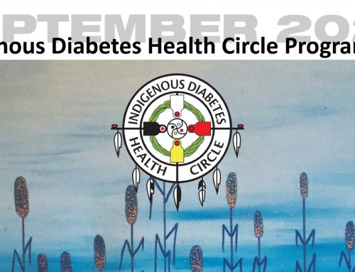 September 2020 Indigenous Diabetes Health Circle Programming