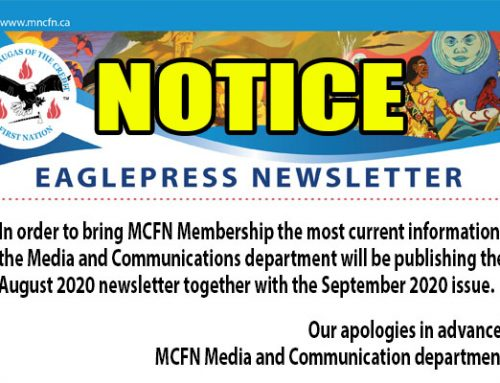 August 2020 Newsletter Notice