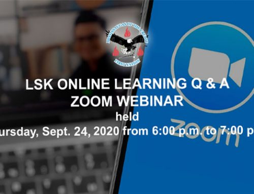 Sept 24, 2020 LSK Online Learning Demonstration and Q&A VIDEO