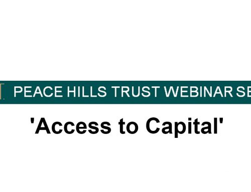 Peace Hills Webinar on Access to Capital