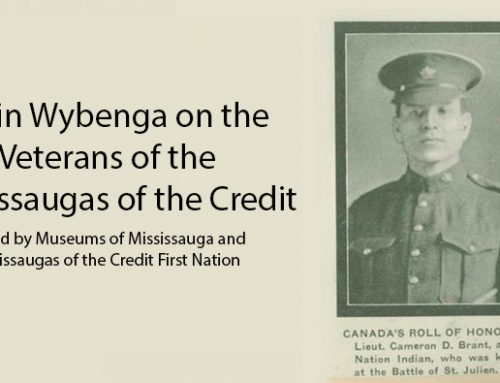 Darin Wybenga on the Veterans of the Mississaugas of the Credit