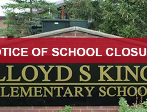 Notice of School Closure