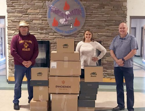 Roots Canada Donation Distributed by the Indigenous Policing Branch of the Ontario Provincial Police