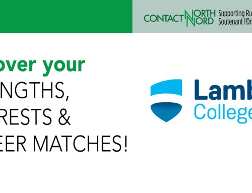 Lambton College's Career Exploration FREE Short Course