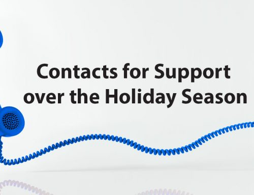 Contacts for Support over the Holiday Season