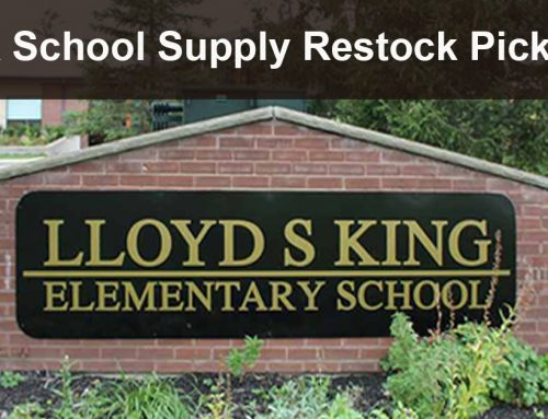 LSK School Supply Restock Pick-Up