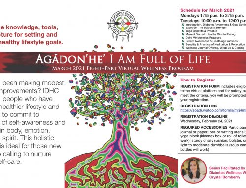 Agádon'he' I Am Full of Life Eight-Part Virtual Wellness Program (March 2021)