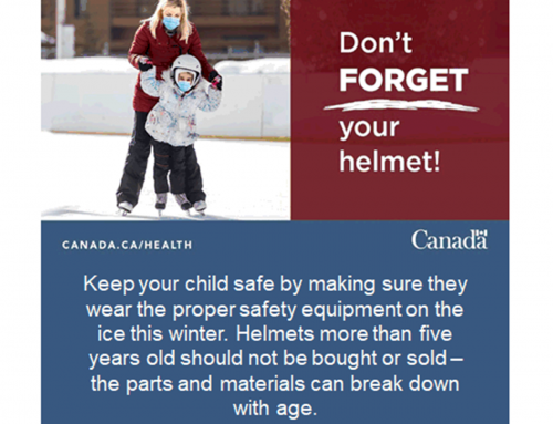 Safety Tip of the Week, Don't FORGET Your helmet