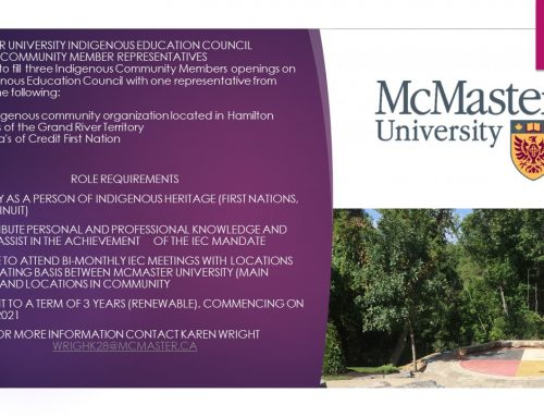 IEC McMaster University –  Call For Community Member Representative