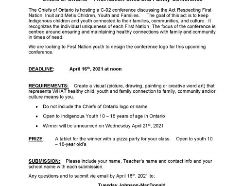Chiefs of Ontario Logo Contest