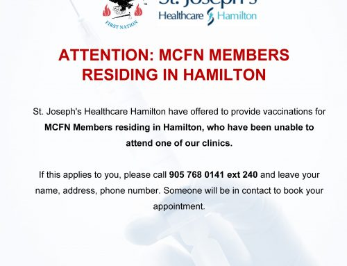 MCFN Members in Hamilton – St Josephs offering vaccinations
