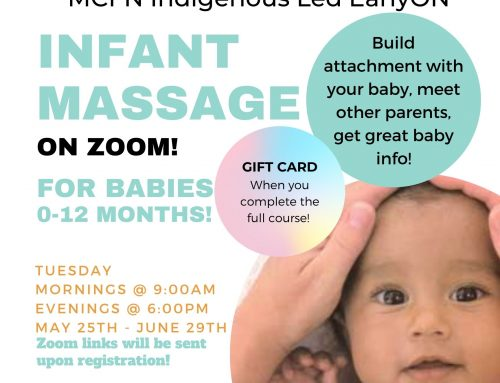 Infant Massage – May 25th – June 29th