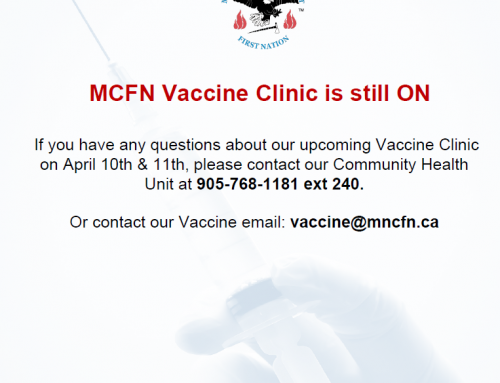 MCFN Vaccine Clinic still on