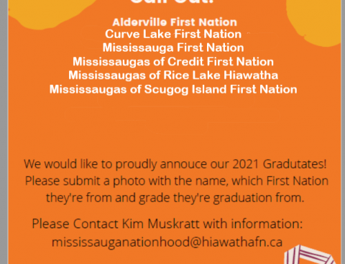 Mississauga Nation call out to all graduates