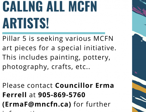 Calling all MCFN artists!