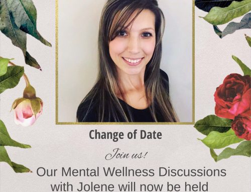 Change of date for Mental Wellness Discussions