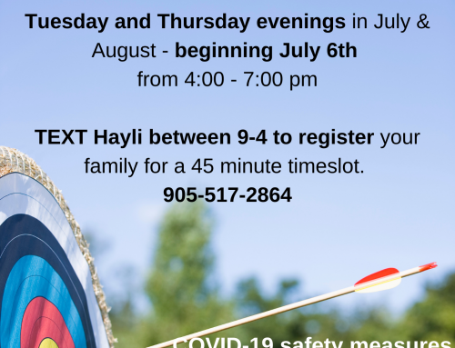 Family Archery nights for Members 8+!