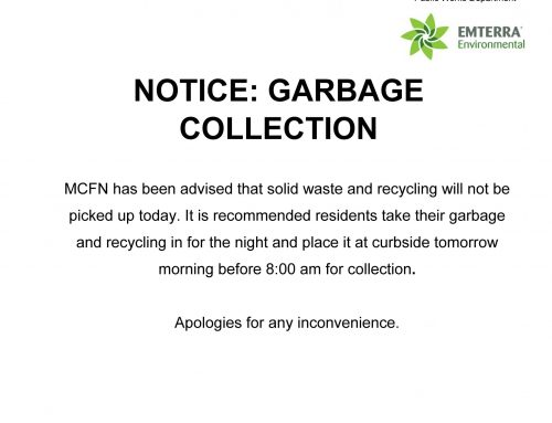 Notice: Garbage Collection