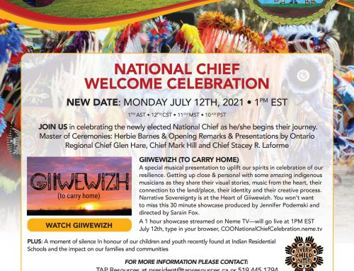 National Chief Welcome Celebration!
