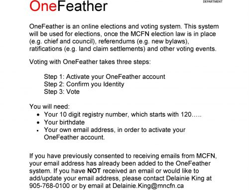 Register with OneFeather today!