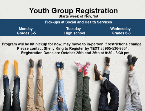 Youth Group Registration